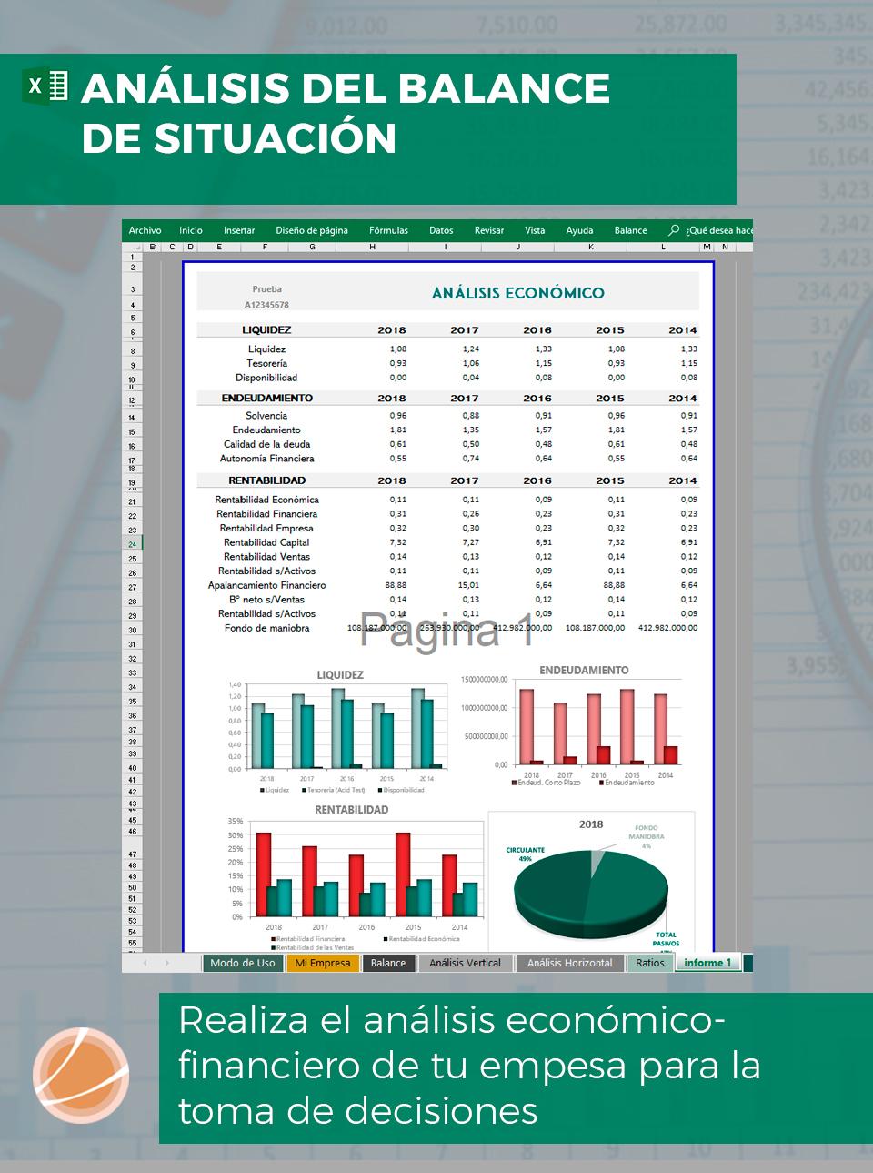 Plantilla análisis económico financieros