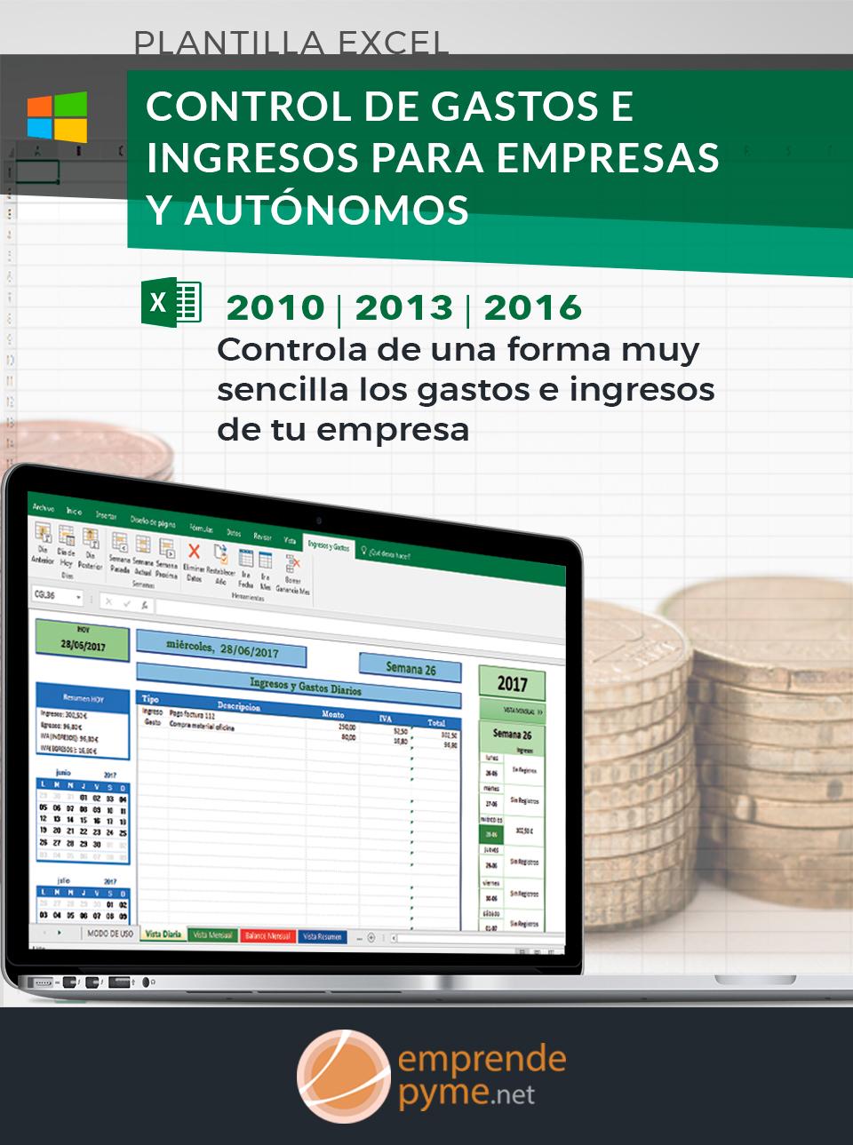 Control de gastos e ingresos