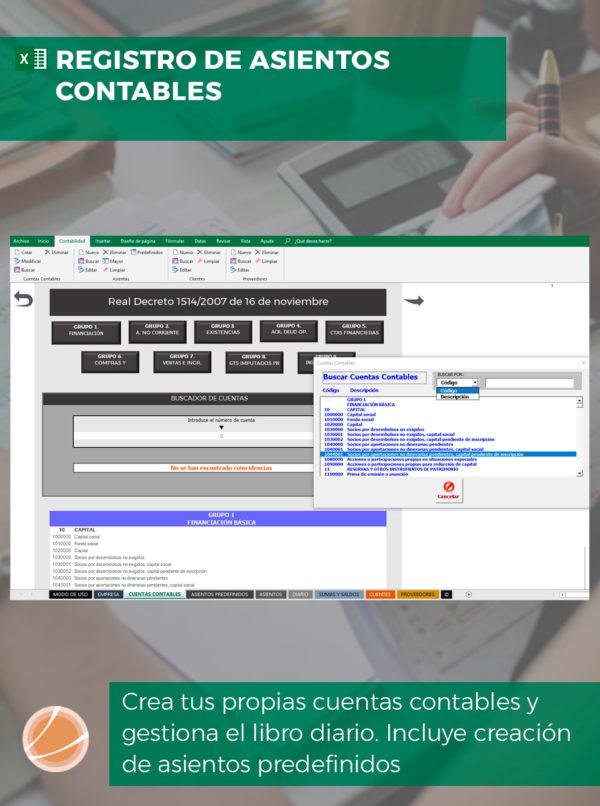 Contabilidad Financiera en Excel