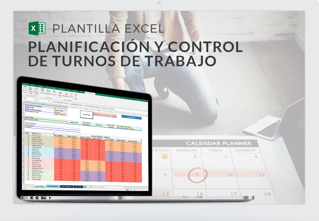 Organización de turnos de trabajo en Excel