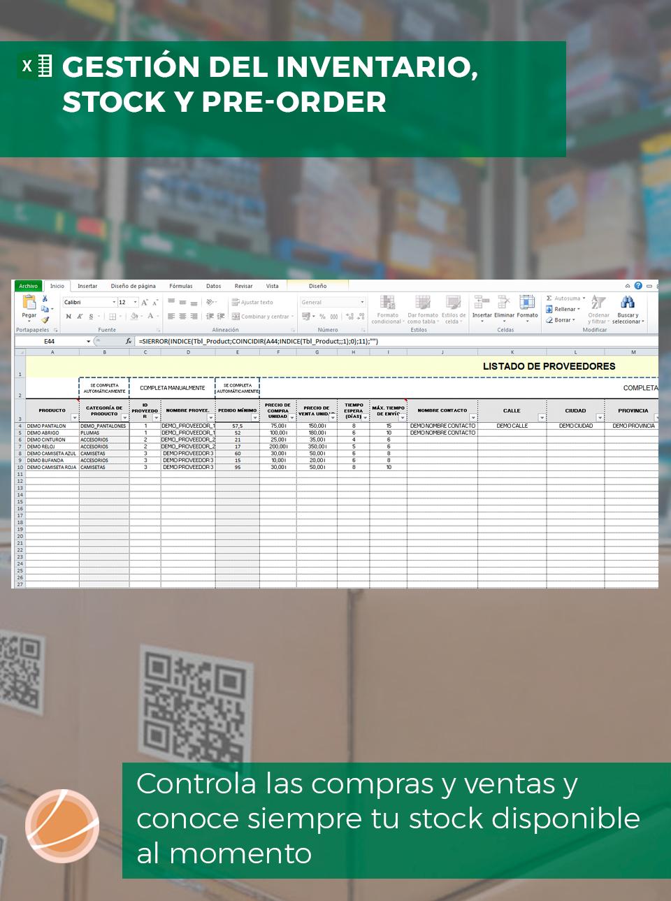 Control de inventario para empresas