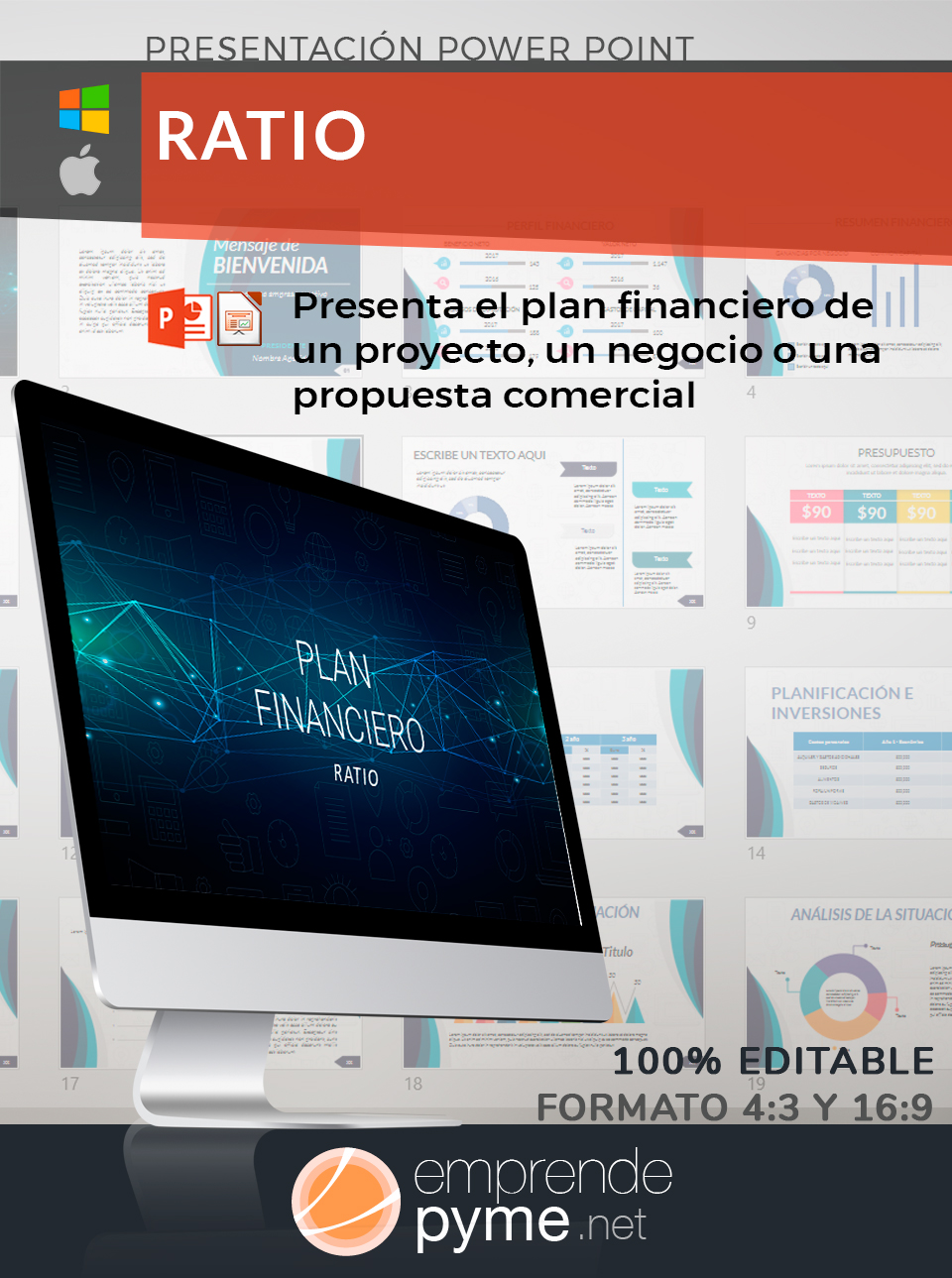 plantilla plan financiero