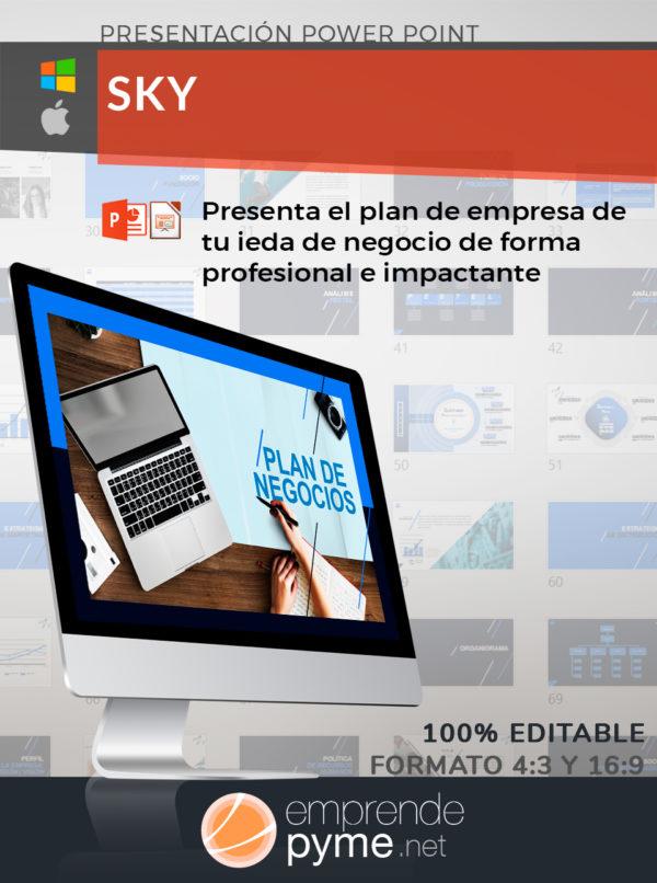 Plantilla PowerPoint para empresas