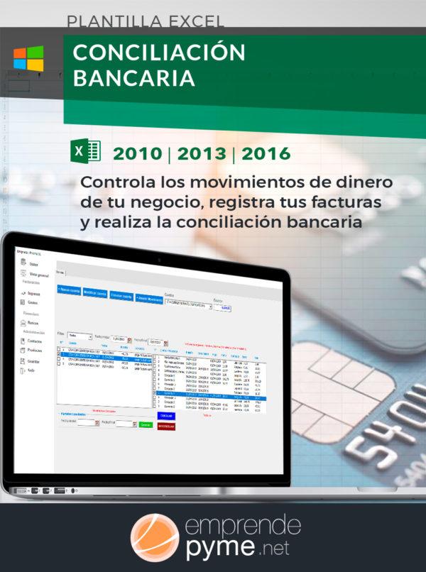 Sistema Excel para conciliar bancos