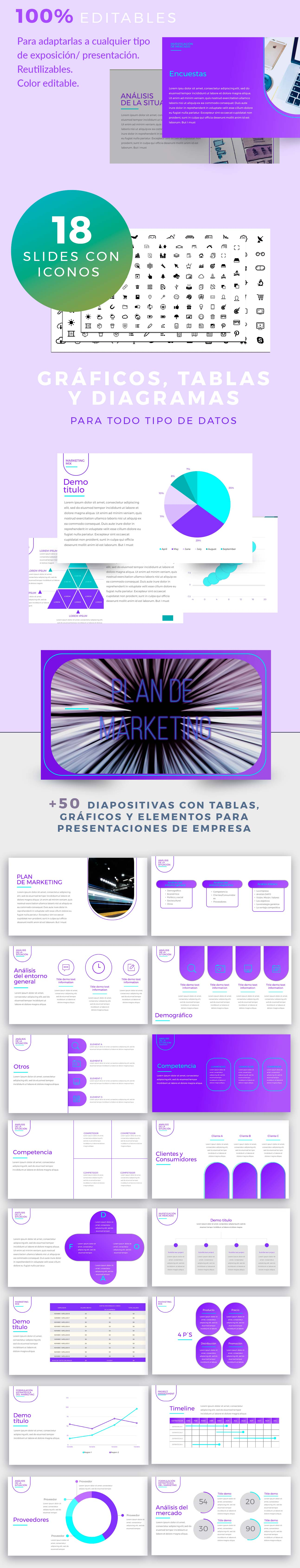 power point proyecto de marketing