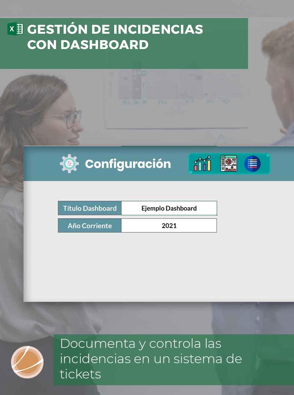 Plantilla control y gestión de incidencias Excel