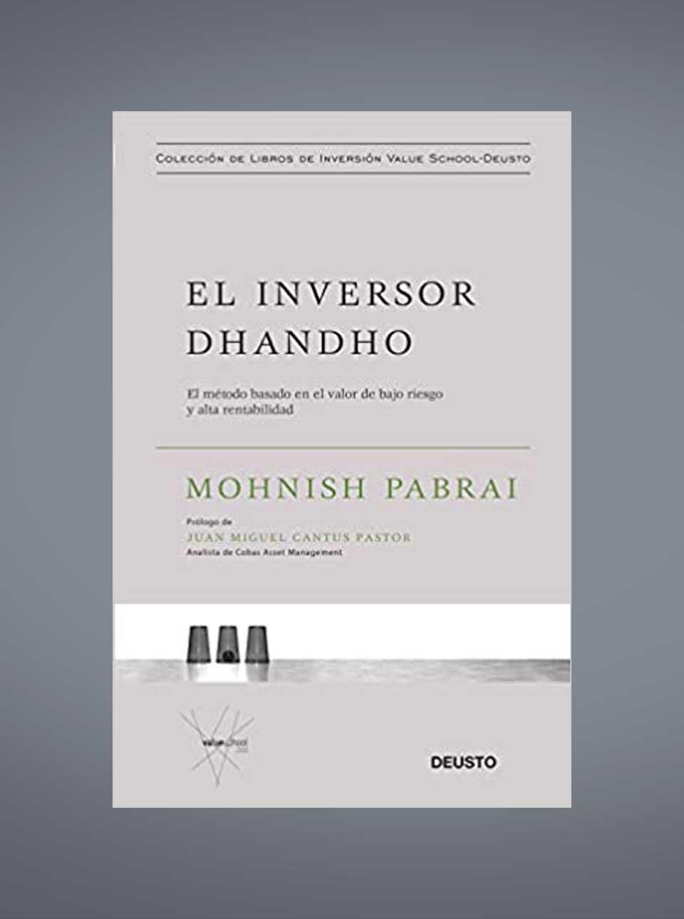 Libro el inversor dhandho de Mohnish Pabrai