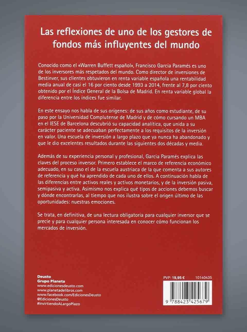Resumen libro Invirtiendo a largo plazo de Francisco García Paramés
